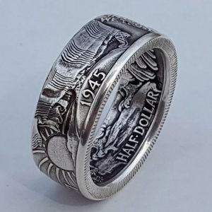 New Antique Coin Morgan Ring United States Ring